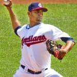 Danny Salazar Cleveland Indians 2013