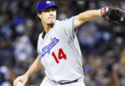 Dan Haren Baseball Betting at BetAnySports -- Dodgers and Braves Tangle with Struggling Pitchers