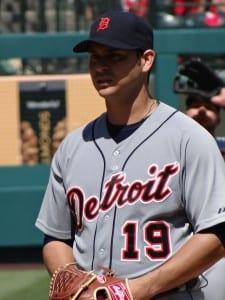 Aníbal_Sánchez Detroit Tigers Tampa Bay Rays 2013