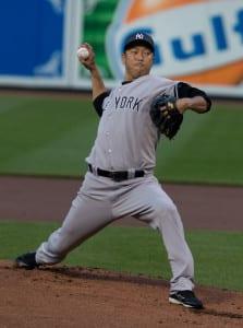 Hiroki Kuroda MLB baseball betting