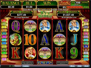 real time gaming slots online