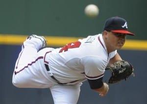 Kris Medlen 2013 MLB Playoffs