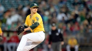 Sonny Gray Oakland A's 2013 MLB Playoffs