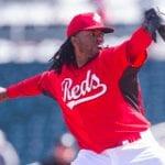 Cincinnati Reds Johnny Cueto 2014