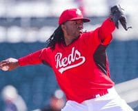 Cincinnati Reds Johnny Cueto 2014