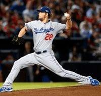 Los Angeles Dodgers Clayton Kershaw 2014