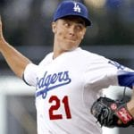 Zack Greinke MLB Betting – Dodgers vs. Angeles Game 1